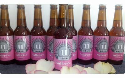 Sullerica Valenta, una cerveza en homenaje a las mujeres que sufren cáncer de pecho.