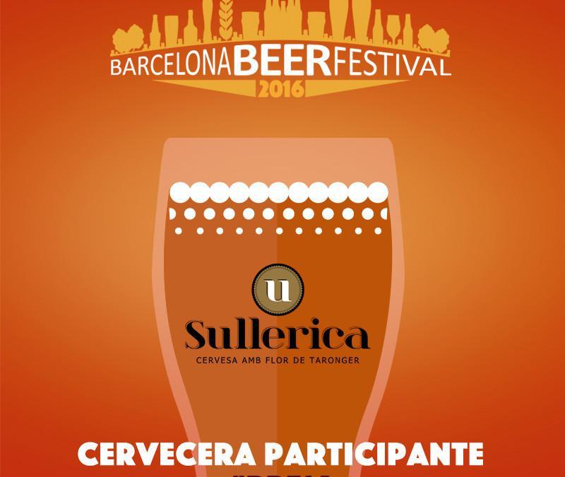 Sullerica repite por tercer año consecutivo en el Barcelona Beer Festival